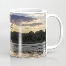 Sunset on Mississippi River Mug