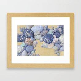 Beach Front I Framed Art Print