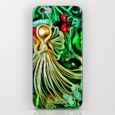 Christmas Angel iPhone & iPod Skin
