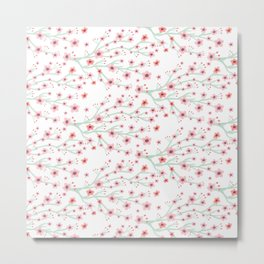 Blooming Sakura Metal Print