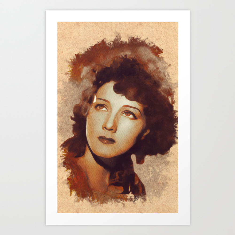 Jean Parker, Movie Legend Art Print by Esotericaartagency PRN8792719
