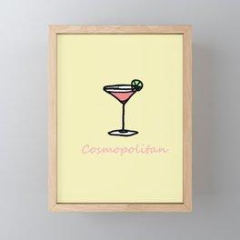 Cosmopolitan Framed Mini Art Print