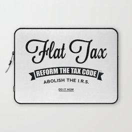 Flat Tax Laptop Sleeve