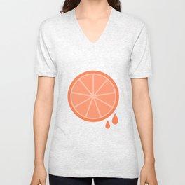#51 Orange Unisex V-Neck
