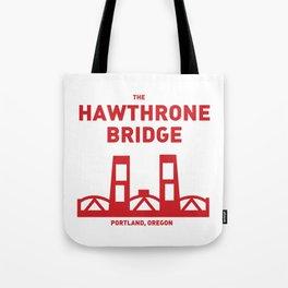 Hawthrone Bridge Tote Bag
