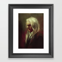 Lucius Framed Art Print