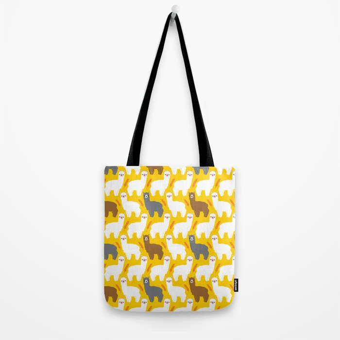 The Alpacas Tote Bag
