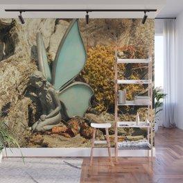 Aqua Fairy Wall Mural