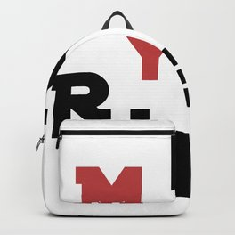 My house my rules Backpack