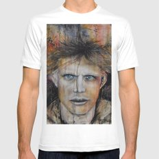 Marble Man Mens Fitted Tee White MEDIUM