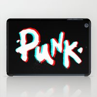 punk iPad Cases featuring Punk. by CreateAndInspire