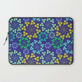 Whirly Blue Laptop Sleeve