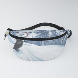 Dropping The Dream Forest Fanny Pack