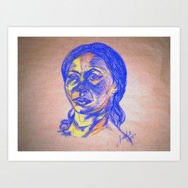 Gentle Persausion Art Print