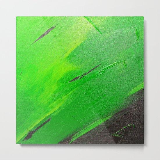 Simply Green Metal Print