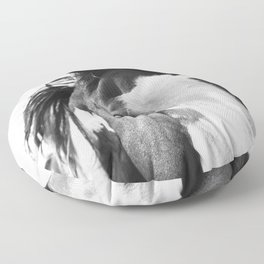 Paint Horse | Modern Horse Art Floor Pillow