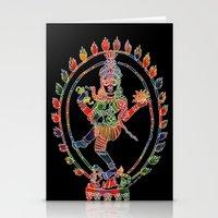 shiva Stationery Cards featuring Shiva Nataraja by Jessica Beth Sporn