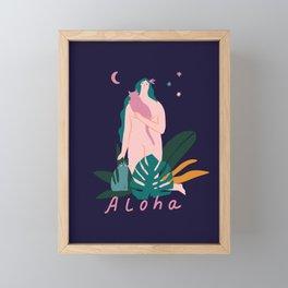 Aloha Framed Mini Art Print