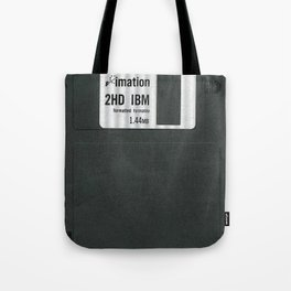 Retro 80's objects - Diskette Tote Bag