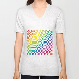 colorfull Unisex V-Neck
