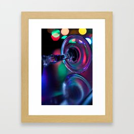 Not the polka type 2 Framed Art Print