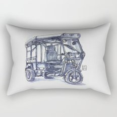 vietnam 3 wheelers Rectangular Pillow