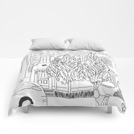 House in Georgetown, Washington, D.C. Comforters