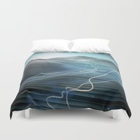 journey Duvet Covers featuring Journey by Jason Linn