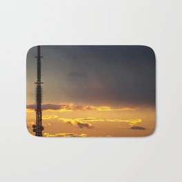 Sunset in NYC Bath Mat