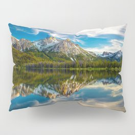 Sawtooth Range Morning Reflection Pillow Sham