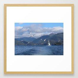 SOARING HOME Framed Art Print