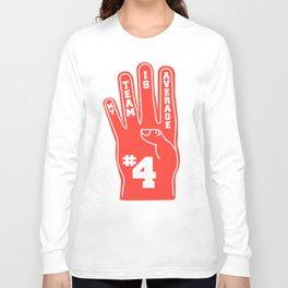 Foam Finger Long Sleeve T-shirt