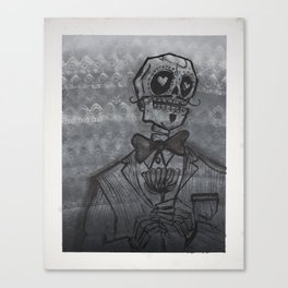 el Caballero (the Gentleman)  Canvas Print