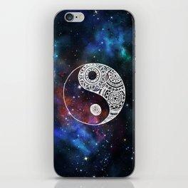 Galaxy Yin Yang iPhone Skin