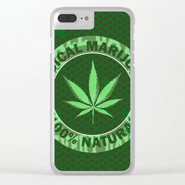 100% Natural Clear iPhone Case