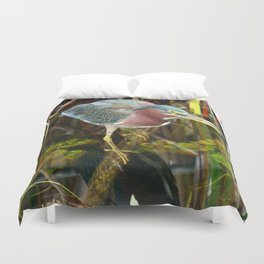 Me And My Reflection Duvet Cover