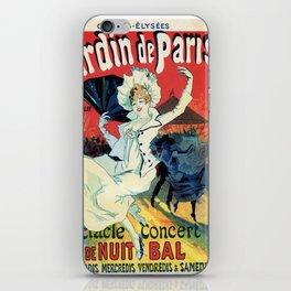 1890 Jardin De Paris Night Party iPhone Skin
