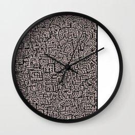 Doodlez Three Wall Clock