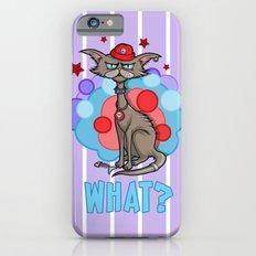 Cool Cat in a Red Hat iPhone 6s Slim Case