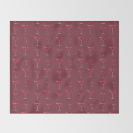 Cocktail Throw Blanket