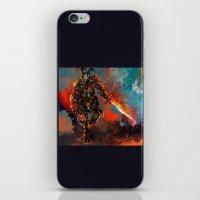 iron man iPhone & iPod Skins featuring iron man by ururuty