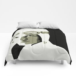 Silhouette vector Art: Amelia Comforters