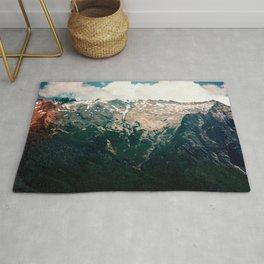 Mountain Texture Rug