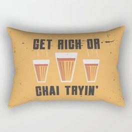 Funny Chai Quote Rectangular Pillow