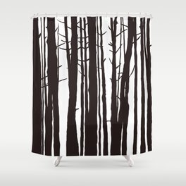 The Trees and The Forest Shower Curtain