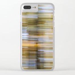 Forest Wipe – Wald-Wusch Clear iPhone Case
