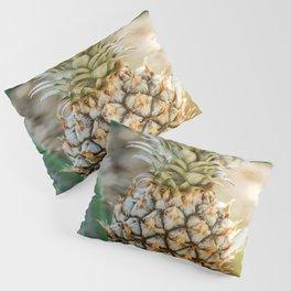 Tropical Pineapple | Tropical Nature Macro Photography Pillow Sham