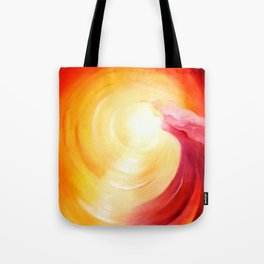 Soul journey into the light Tote Bag