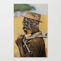 the bees Canvas Print