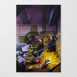 Robot Wars Canvas Print